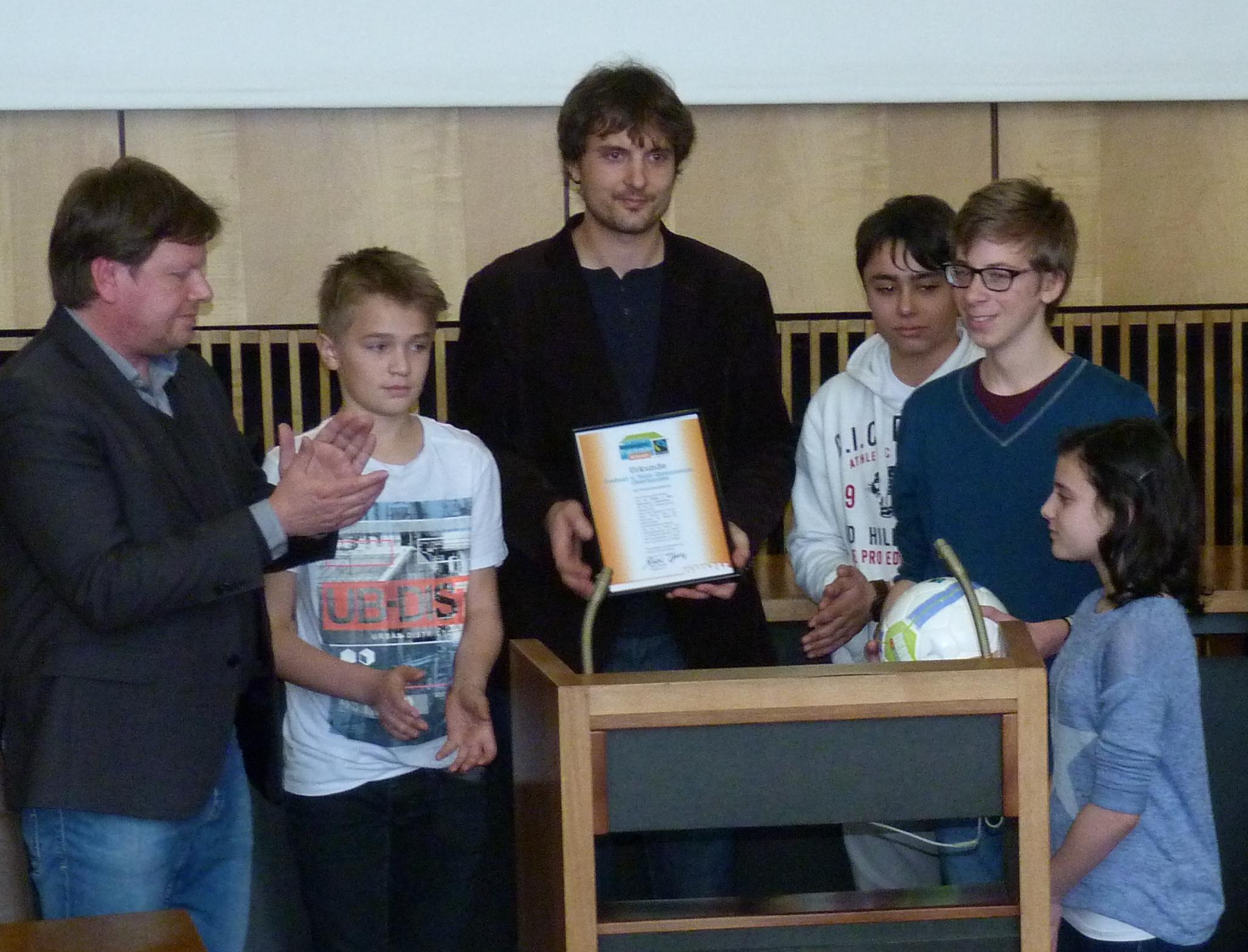 2015 03 09 Fairtrade Zeremonie 1